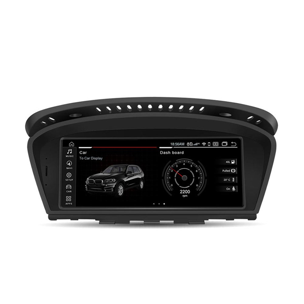 "8.8"" Touch Schirm GPS Navigation Autoradio Multimedia Station Android 10.0 Qualcomm Octa-Core 4G+64G für BMW 3er 5er E60 E61 E63 E90 E91 Auto DVD"