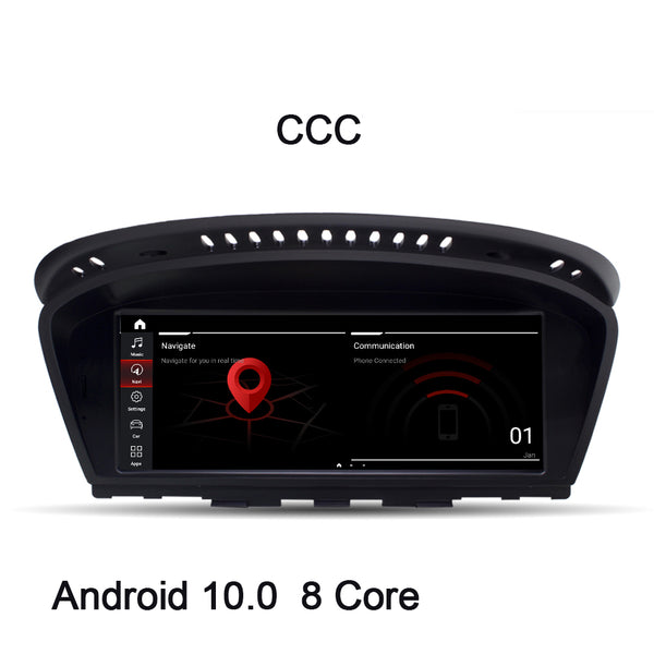 "8.8"" Touch Schirm GPS Navigation Autoradio Multimedia Station Android 10.0 Qualcomm 8 Kern für BMW 3er 5er E60 E61 E90 E91 - Ewaying DEUTSCHLAND"