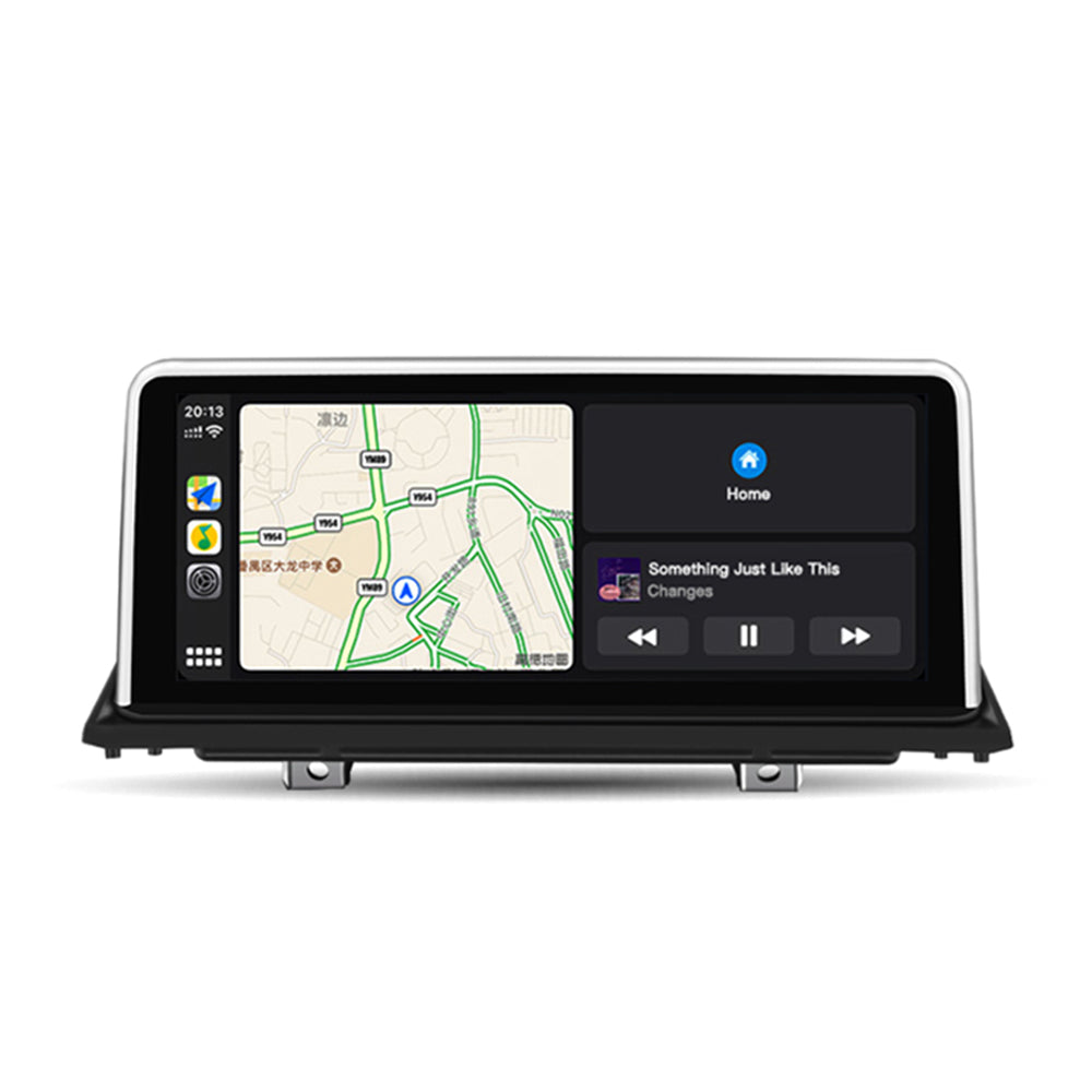 "10,25 ""kabelloses Apple CarPlay + Android Auto für BMW X5 X6 E70 E71 E72 CCC GPS-Navigation Head Unit Ohne Android System"