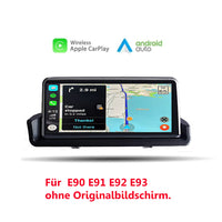 Drahtloses CarPlay BMW 3er E90 E91 E92 E93 Android Auto 8,8-Zoll-IPS-Bildschirm ohne Android-System - Ewaying DEUTSCHLAND