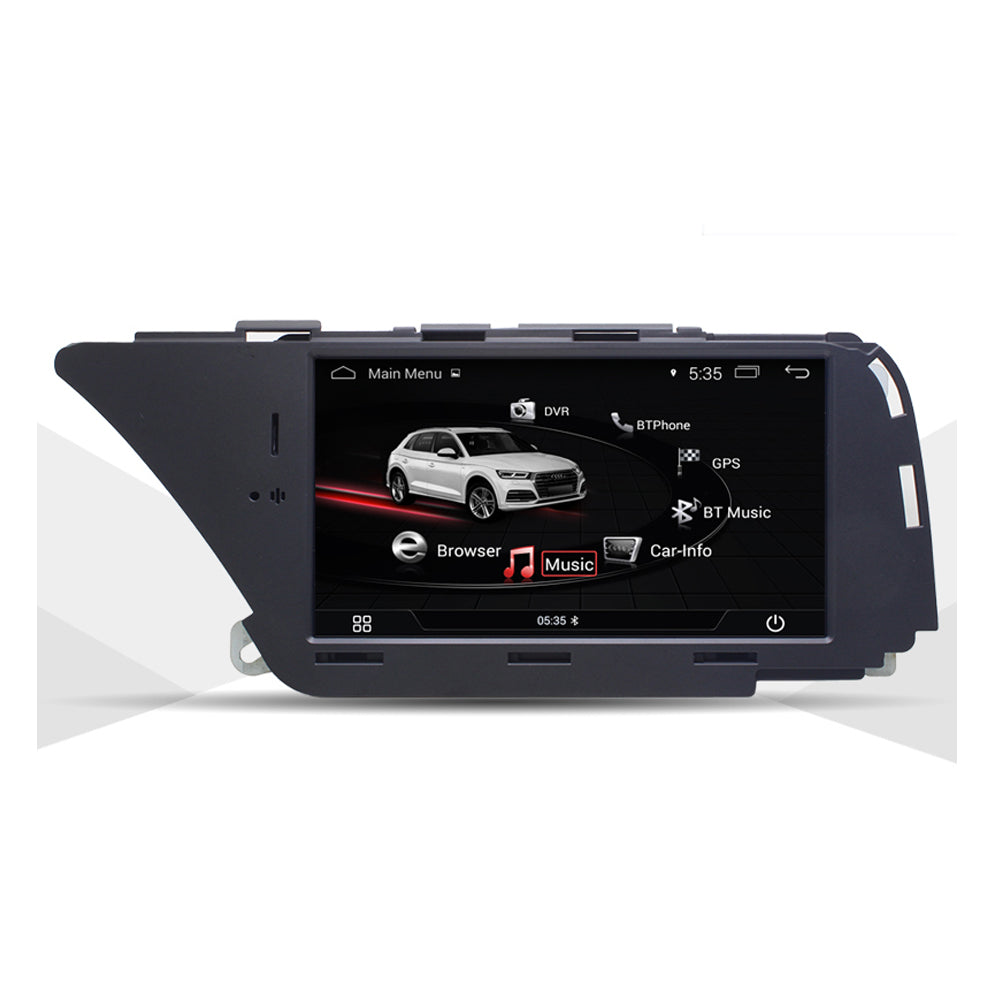 "7 ""Android 9.0 Auto Multimedia Player für AUDI A4 (2008-2016 B8) Q5 (2010-2016) Bluetooth GPS Navigation - Ewaying DEUTSCHLAND"