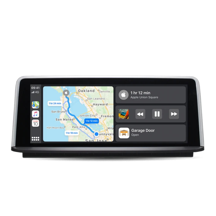 "10,25 ""Bildschirm kabelloses Apple CarPlay + Android Auto für BMW Series3 4 F30 F31 F34 F32 F33 F36 F80 ohne Android-System - Ewaying"