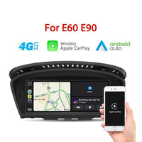 BMW Drahtlose Apple CarPlay E60 E90 Android Auto für Serie 3 5 E61 E63 E64 M6 E91 E92 E93 M3  8,8 Inch IPS HD Screen - Ewaying DEUTSCHLAND