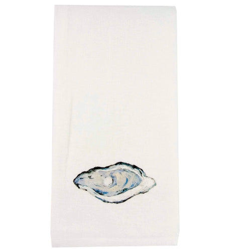 Original Oyster Artwork Tea Towel