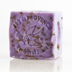 French Lavender Sage Marseille Soap Cube