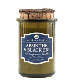 Northern Lights Spirt Jar Candle Absinthe & Black Fig