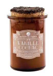 Northern Lights Spirt Jar Candle Vanille Cognac