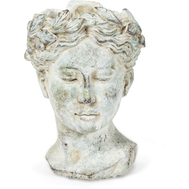 Female Grecian Head Planter Medium