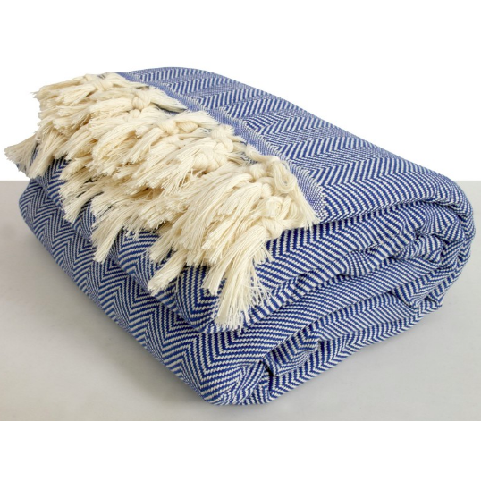 Turkish Cotton King Size Blanket/Throw