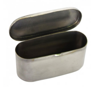 Silver Plated Vintage Inspired Toothpick Holder
