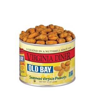 Virginia Diner, Inc. - 10 oz Old Bay Seasoned Peanuts
