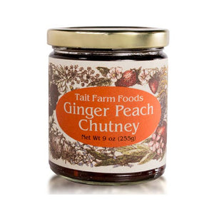 Tait Farm Foods - 9oz Ginger Peach Chuntey
