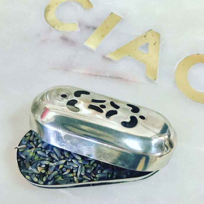 Vintage Inspired Silver Ashtray