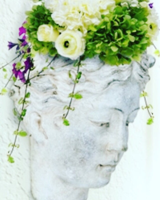 Greek Goddess Wall Planter