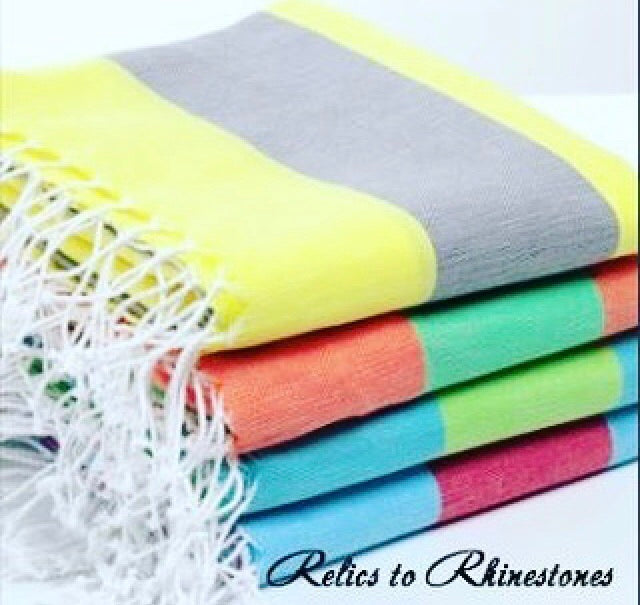Turkish 100% Cotton Bath/Beach Towel