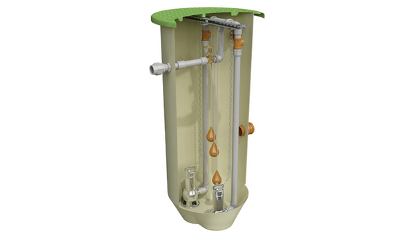 Klargester Pumpstor DPSA Sewage Domestic Pump Station 1250L (GRP Construction)