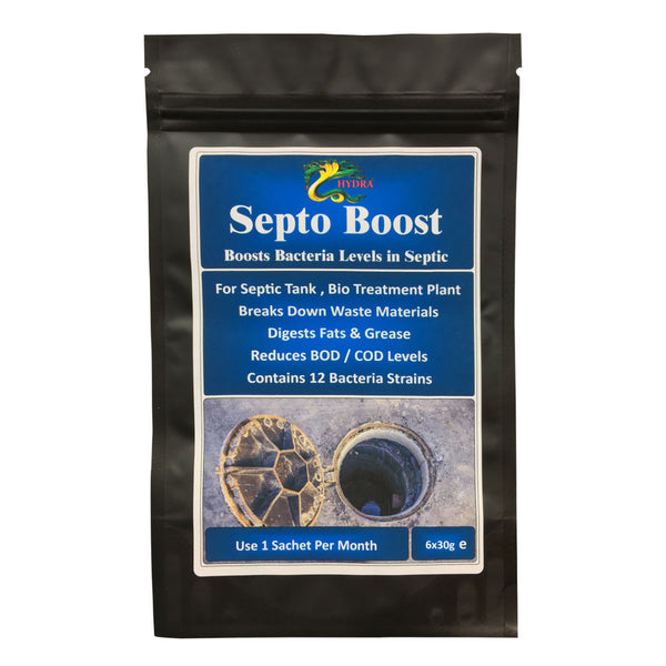 Septic Tank Bacteria 12 Months Supply