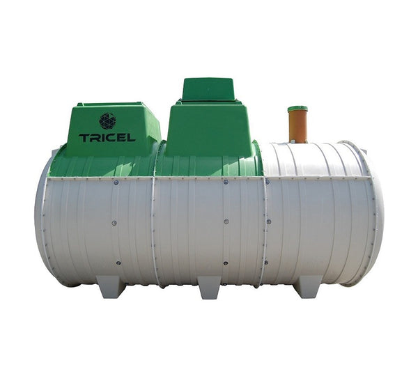 Tricel Novo UK12 Sewage Treatment Plant - Pumped Outlet