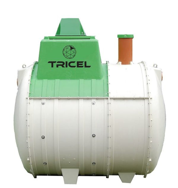 Tricel Novo UK8 Sewage Treatment Plant - Gravity Outlet