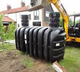 Tricel Vento 6 - 3,080L Shallow Septic Tank