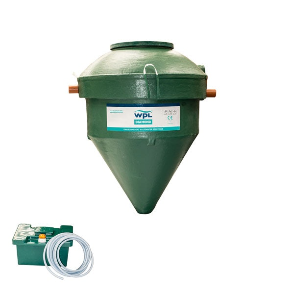 WPL Diamond DMC8 Sewage Treatment Plant - 36-45 Person