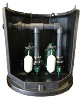 Zoeller Twin Pump Cellar System (Z250) - 100 Litres
