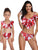 2Pcs New Family Matching Swimwear Mother Daughter Swimsuit - Hellosasa