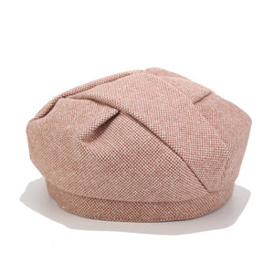 Women Pleated Beret