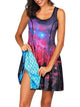 Two-Side-Print-Reversible-Dress-Summer-Style-Mini-Dress-Findalls