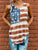 Women American Flag Loose Sleeveless T-shirt