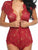 Lingerie Nightwear Lace Romper Dress