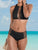 High Neck Two Piece Swimsuit Set
