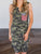 Independence Day Army Green Camouflage Dress