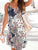 Bohemia Printed Sleeveless Maxi Party Beach Dress - Hellosasa