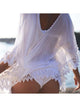 Lace Hollow Crochet Bikini Cover Up Dress