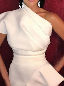 Elegant-Sloping-Shoulder-Waist-Bodycon-Dresses-Findalls