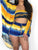 3PCS Tie Dye Print Shorts Set With Cover Up - Hellosasa