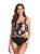 Retro Ruffles High Waist Tankinis Swimsuit