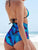 Floral Print High-waisted Two Piece Swimwear