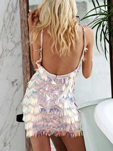 Sling Sequin Party Dress