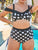 3-Part Cup Construction Tankinis Swimsuit Set - Hellosasa