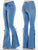 Hip Hugger Bell Bottoms Stretchy Jeans