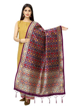 Load image into Gallery viewer, Rangoli Women'S Hand Woven Work Indian Ethnic Silk Scarf and Shawls