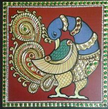 Load image into Gallery viewer, Tanjore Peacock