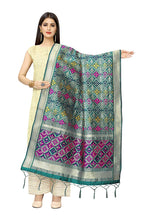 Load image into Gallery viewer, Patola Women'S Hand Woven Work Indian Ethnic Silk Scarf and Shawls