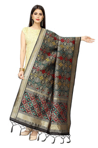 Patola Women'S Hand Woven Work Indian Ethnic Silk Scarf and Shawls