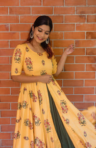 Dreamy Sayali - Yellow