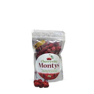 Montys Freeze Dried Cherries
