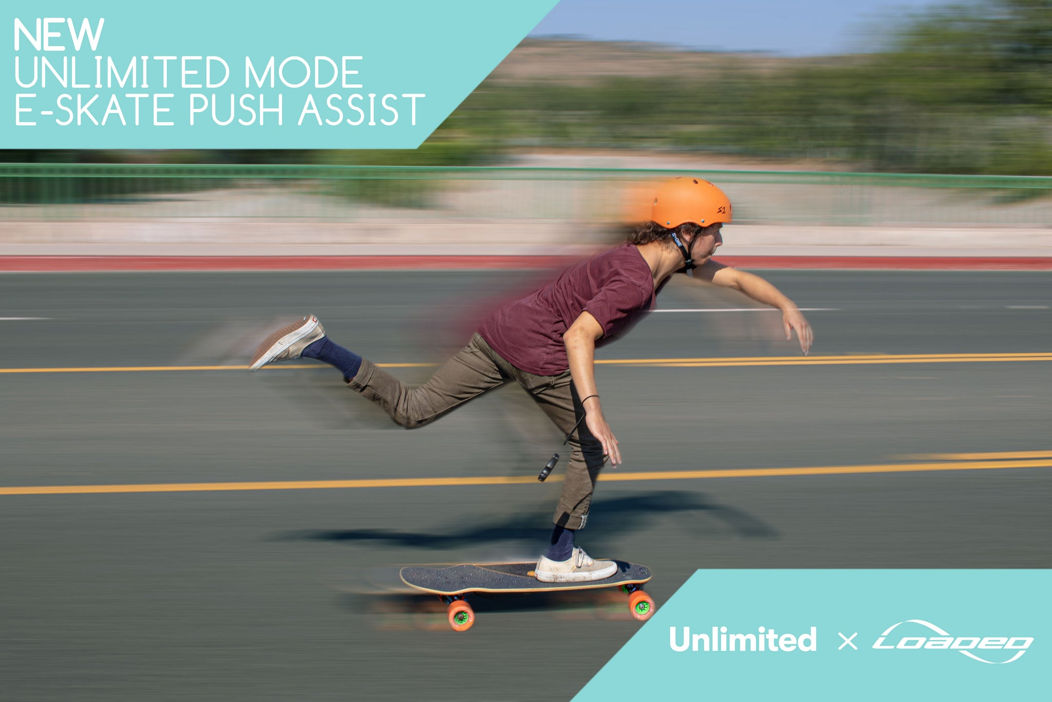 Unlimited Mode: E-Skate Push Assist