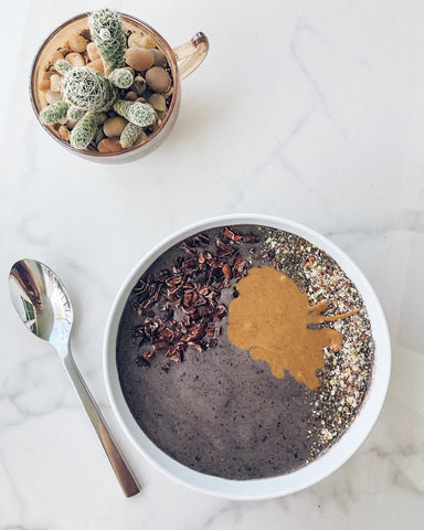 Adaptogen Butter Rooted Life Foods Smoothie Bowl